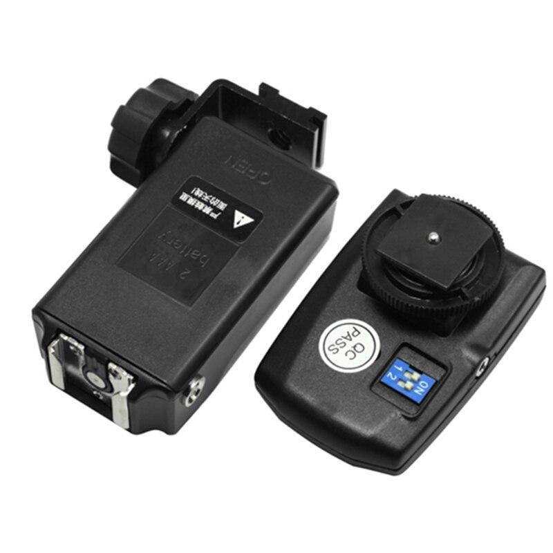 FOTGA Remote Trigger PT-04TM Set for Speedlight SB800 SB600 580EX II 430EX 380EX