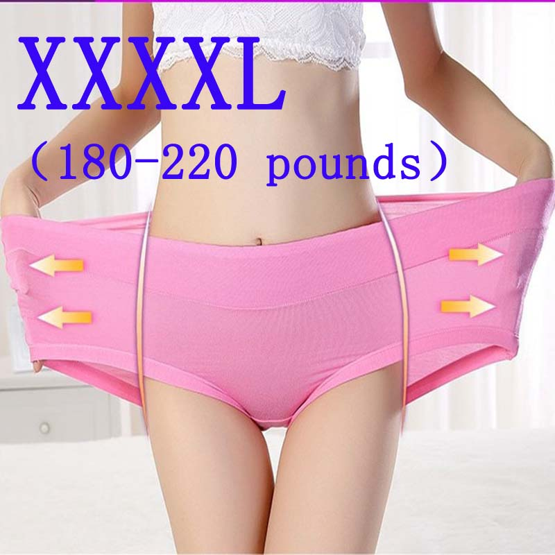 5 6 7XL New Panties Women Underwear Ladies Comfortable Calcinhas Briefs Sexy Cotton Panties For Women Plus Size Underpants Panty(China)
