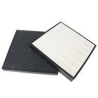 2pcs activated carbon air purifier filter and hepa filter for Sumsang AC 383CSAUA CFX 2DSA/SC CFX 2HSA/SC