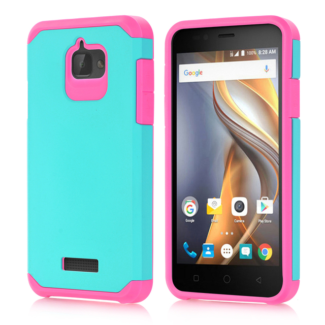 for coolpad catalyst 3623a 3622a phone case,Hybrid Rugged Armor Heavy Duty Hard Cover For coolpad catalyst 3623a 3622a case