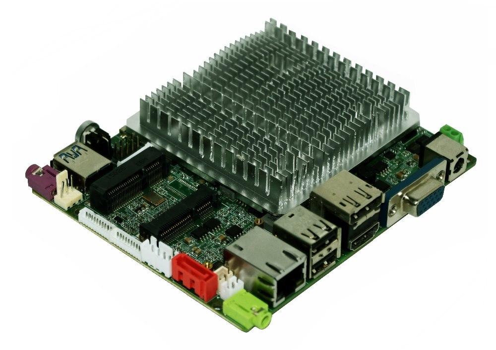 original fanless Onboard BayTrail Celeron N2840 firewall motherboard mini itx Quad core CPU support WIFI