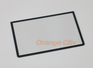 Image 2 - ChengChengDianWan 3 unids/lote, pieza de repuesto para 3DS LL / 3DS XL, cubierta de plástico frontal de pantalla LCD superior