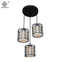 Free Shipping Modern Pendant Light Iron Metal Pendant Lamp Light Fixtures Fashion Living Kitchen Suspension