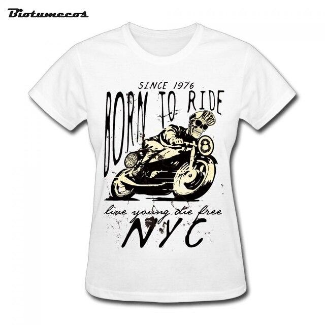 Junge Fahren Live Shirts Free Kurzarm Geboren Frauen T Zu 0Zwaq4