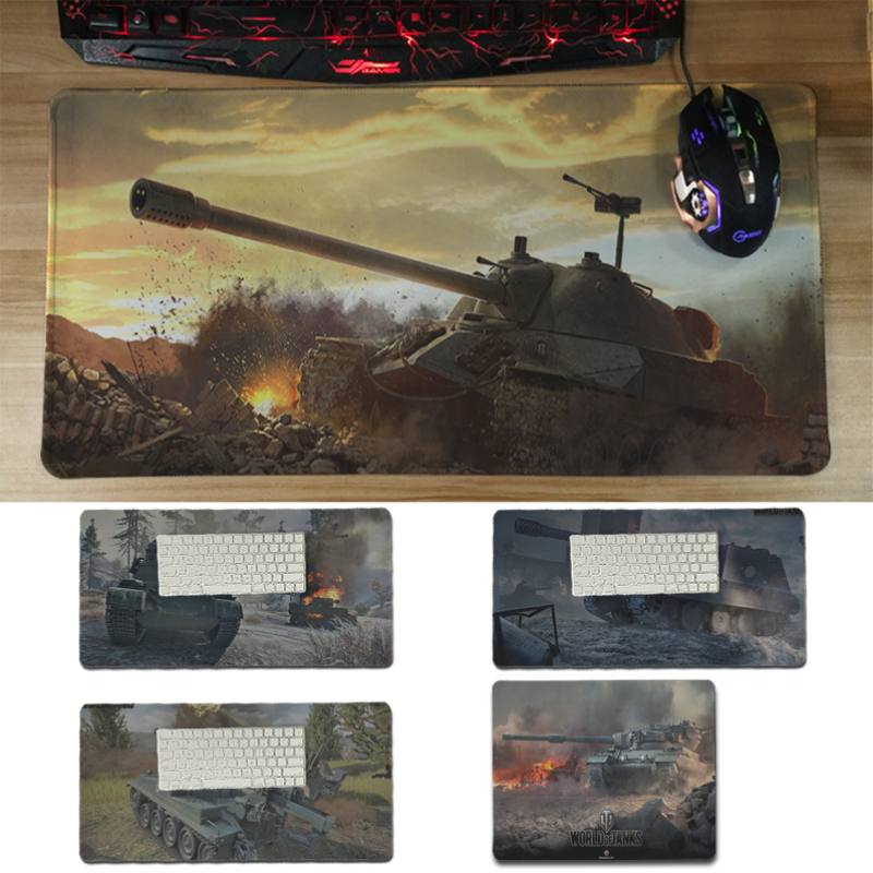 Yinuoda hot sale World of tanks Laptop Computer Mousepad Size for 30x60cm and 30x60cm Ga ...