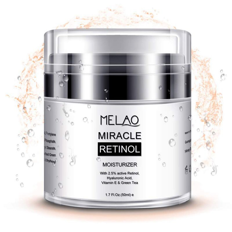 New MELAO Retinol 2.5% Moisturizer Cream Anti Aging and Reduces Wrinkles and Fine Lines Day and Night Retinol Cream BeautyNew MELAO Retinol 2.5% Moisturizer Cream Anti Aging and Reduces Wrinkles and Fine Lines Day and Night Retinol Cream Beauty