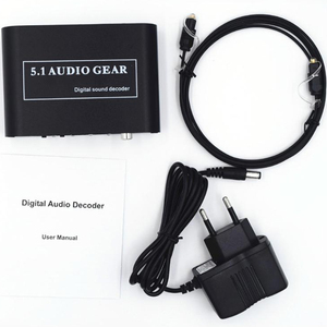 Image 5 - Digital Audio Decoder 5.1 Audio Gear DTS/AC3/6CH Digital Audio Converter LPCM To 5.1 Analog Output 2.1 for PS2 PS3 XBOX360 DVD