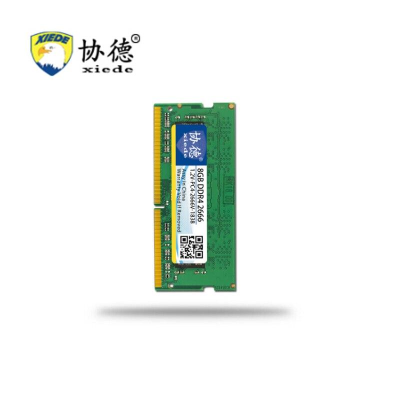 Pour Jeux XieDe mémoire vive DDR4 2666 Mhz 4 GB pour Ordinateur Portable Ordinateur Portable Sodimm Memoria compatible avec DDR 4 2666 Mhz 8 GB 16 GB PC4-2666V