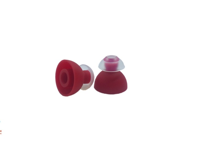 SpinFit TwinBlade CP240 M حجم 4.4 مللي متر المزدوج شفة سيليكون Eartips ل سماعات أذن داخل الأذن (1 زوج)