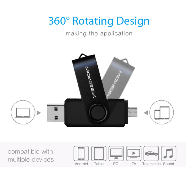 Durable USB Flash Memory Card up to 128GB