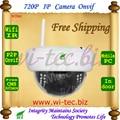 WIFI 720P IR Dome SD Card Vandal proof Plastice Indoor CCTV Cam Onvif IP Camera Alarm Motion detect P2P Mobile view security