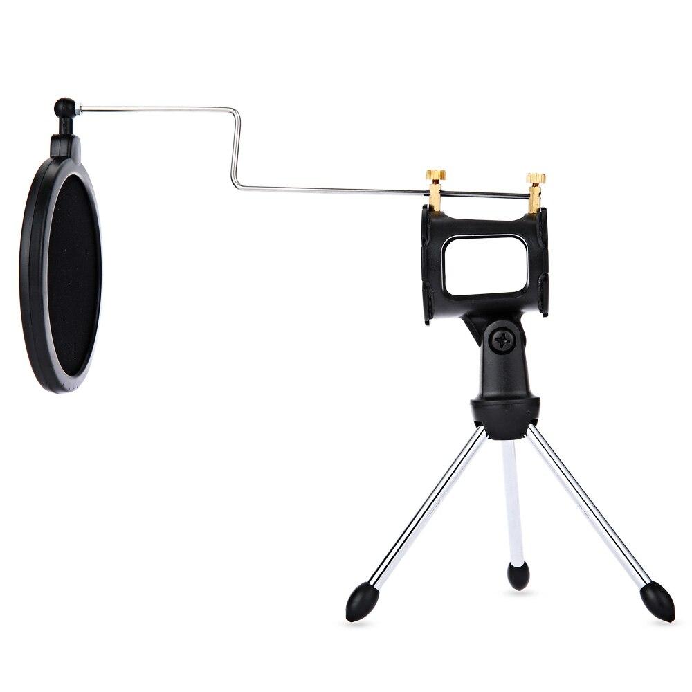 Pop Filter Ps-05 Microfono Verstelbare Bureaublad Statief Studio - Draagbare audio en video - Foto 2