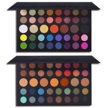 James Charles Shimmer Matte Eyeshadow Palette 39 Color Long Lasting Glitter Highly Pigments Perfect Beauty Eye Shadow Cosmetics