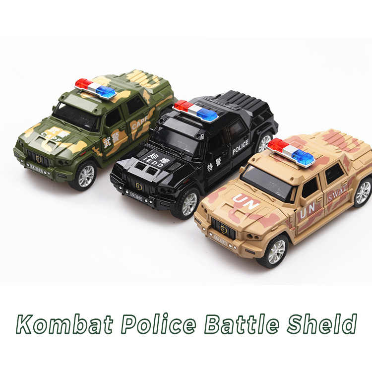 1:32 Scale Kaibahe War Shield Metal Toy Alloy Car Diecast Toy Vehicles Car Model Miniature For Kids Christmas Toy Free Shipping