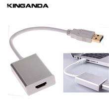 USB 3.0 HDMI Multi Дисплей видео Графический конвертер Кабель USB3.0 Smart av-адаптер FR HDTV HD 1080 P 5.0 гбит/с CD диск с Драйвером