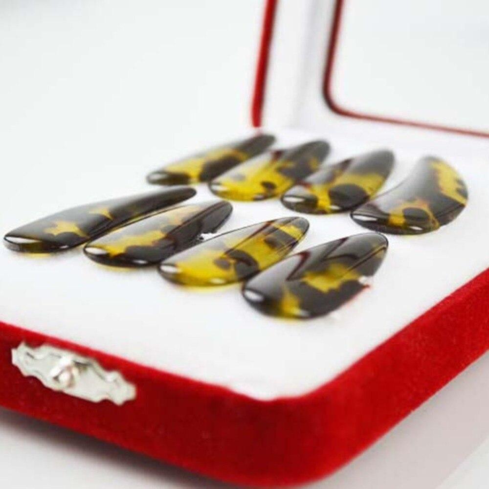 טבעי-חיקה גבוהה-כיתה נייל ציפורניים ציתר למתחילים להתאמן אצבע מרים ציתר אבזרים