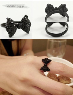 sp012 Only sales promotion 14pcs adjustable rings restoring ancient ways drill bowknot ring adjustable ring