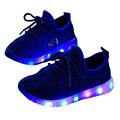 Zapatillas de chicos chicas luces barato de moda transpirable ocio inferior suave shoes niños coconut bottom shoes primavera nueva (niños/bebé)