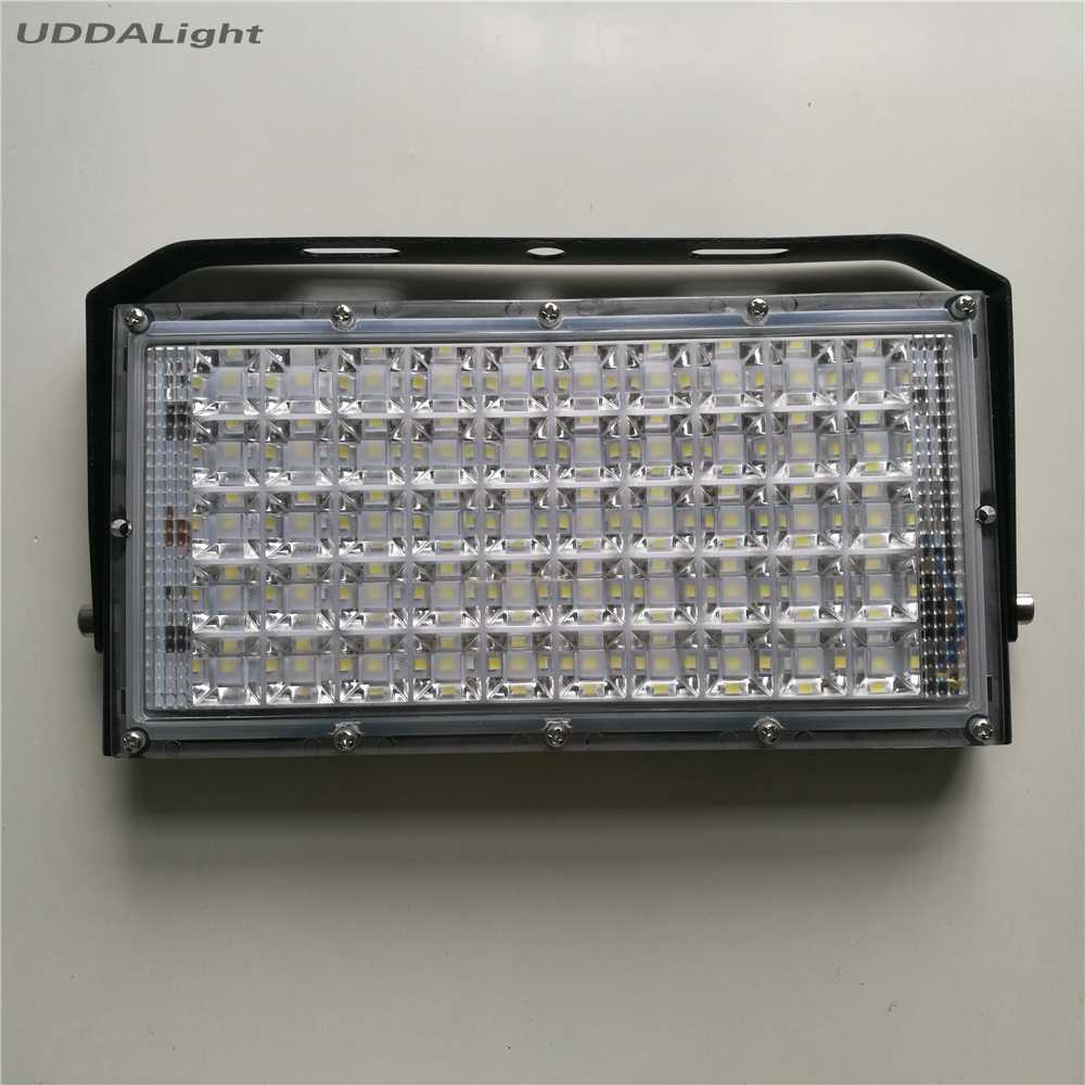 focos exterior pared led 100W 150W 200W 220V 50W Flood Light Waterproof Outdoor Garden Landscape Lamp