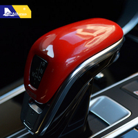 Airspeed for Porsche Panamera 971 2017 2018 ABS Car Gear Shift Knob Cover Trim Decoration Interior Car Accessories Car Styling