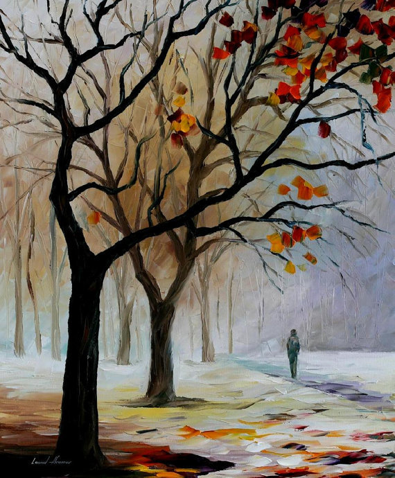Framed painting by number coloring by numbers for home decor hand painted canvas 4050 winter silence