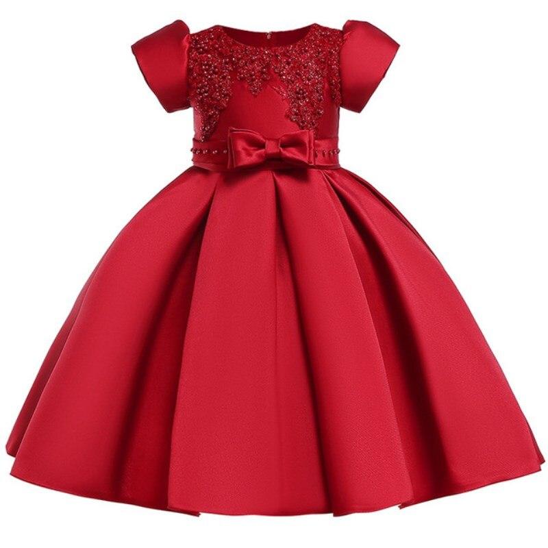86bb15f51dc0e Vente Été Enfants Robes Pour Les Filles Broderie Dentelle Princesse ...