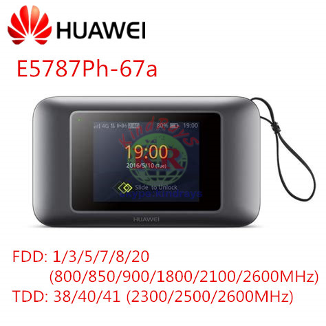 Huawei E5787 E5787PH-67A 300Mbps Mobile WiFi Hotspot Device Support LTE Cat 6 4G mifi with sim card slot PK E5885