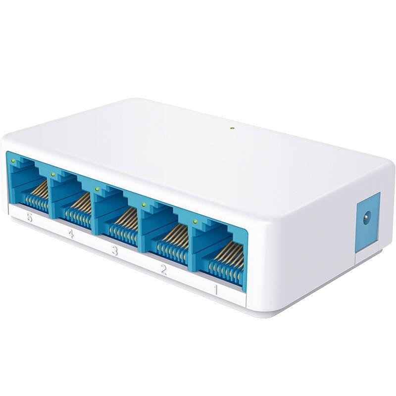 5 Ports High Speed Gigabit Mini Network Switch RJ45 1000Mbps Fast Ethernet Network Switcher Hub Splitter