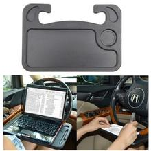 Car Table Steering Wheel Tray and Vehicle Seat Mount Notebook Laptop Eating Desk,Car Food Eating Tray,Black eating delancey
