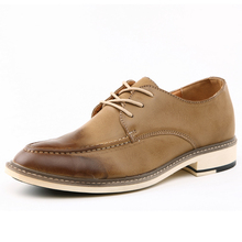 2016 New Men Flats Shoes Casual Leather Shoes Men Black Oxford Shoes For Men Boots Man Wing Tip Brogue Shoes Formal Wedding