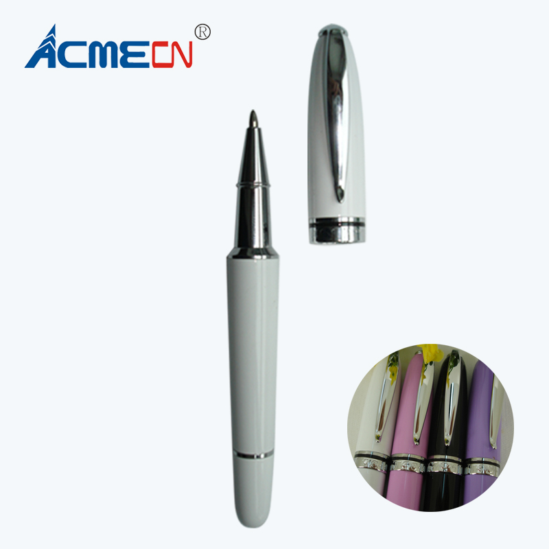 все цены на ACMECN Mini Famous Brand style ball pen Pocket size Portable Pen with metal refill Ballpoint Pen for Business Stationery Office онлайн