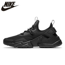 wholesale dealer 430bf 04d41 Nike Air Huarache Men s Running Shoes Black Color Comfort Breathable  Sneakers Shoes AH7334 40-44.5