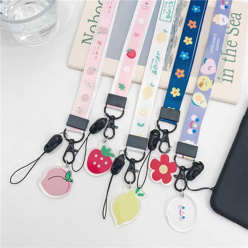 Милый шнурок для ключей шнур для телефона брелок для ключей на брелок для телефона на шею ремень Подвеска со шнурком на шею брелок