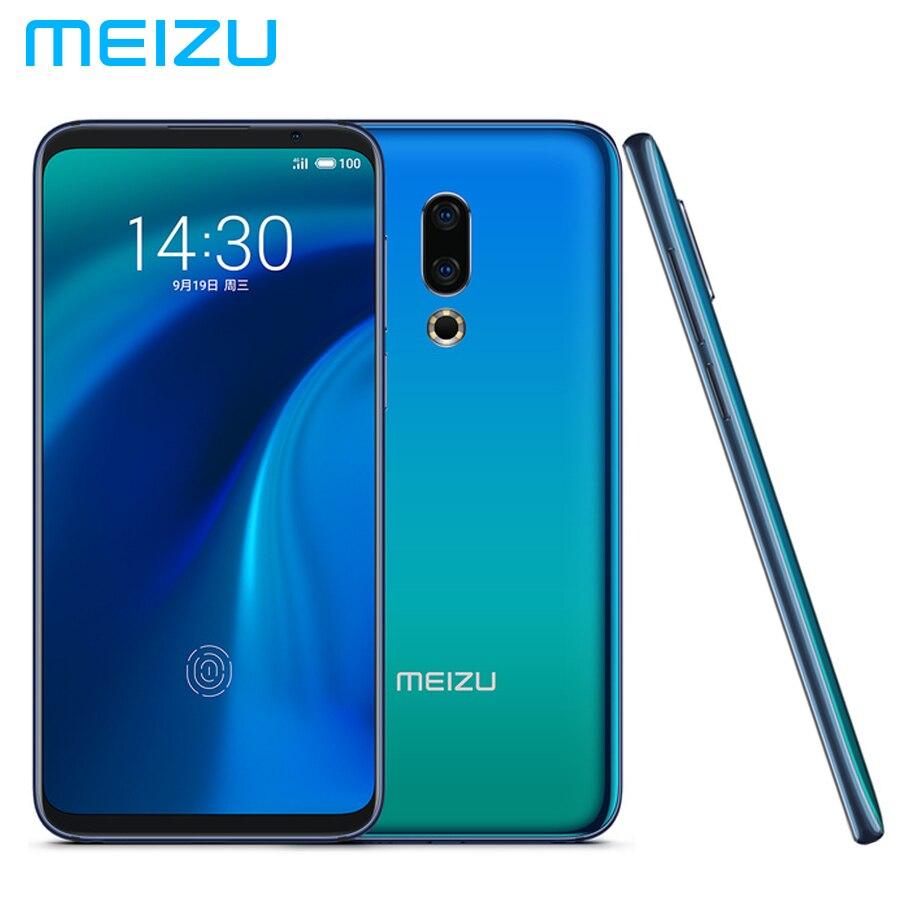 Tout nouveau téléphone Mobile MEIZU 16th LTE 4G 8 GB RAM 128 GB ROM Snapdragon845 OctaCore 6.0