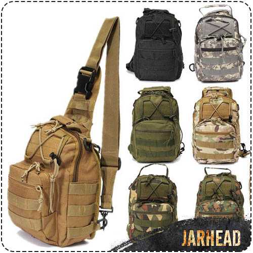 Outdoor Sport Durable Camping Hiking Shoulder Bag Hunter Military Tactical Travel Backpack Military Outdoor Chest Bag переходник для компрессора jtc 1 4 быстросъемный штуцер наружная резьба jtc d20pma