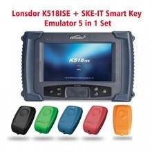 Lonsdor K518ISE Key Programmer Plus SKE-IT Smart Key Emulator 5 in 1 Set Full Package Update Online Original