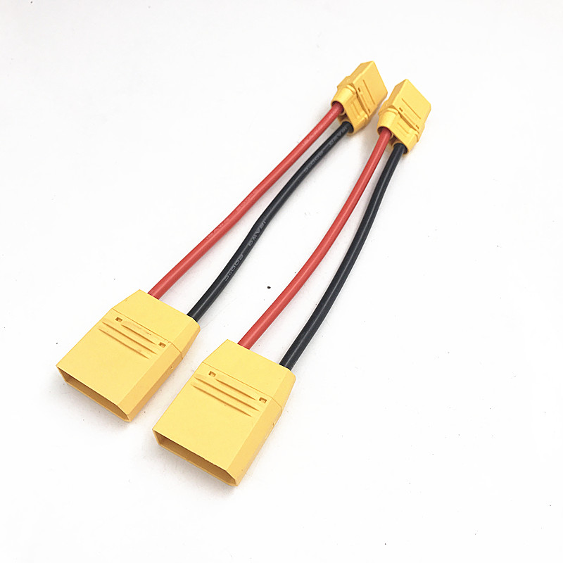 DJI AGRAS MG-112000P Battery Charging Conversion Cable XT90 Femal To XT100 Male For DJI MG-1 Agriculture Plant Protection Drone