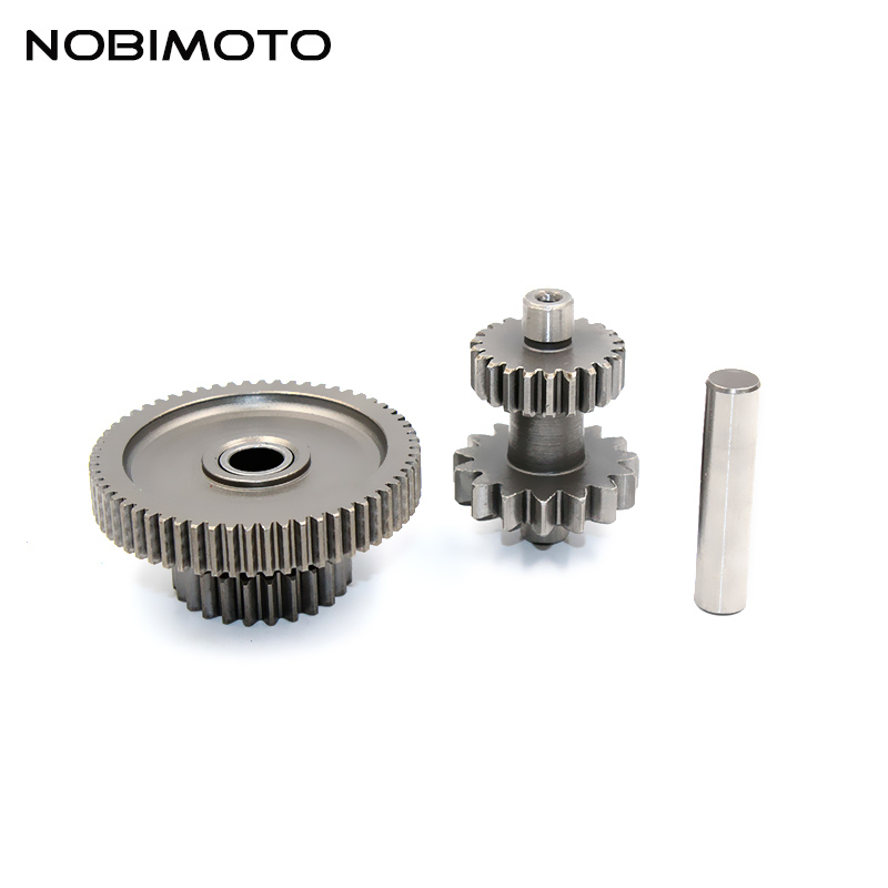 Twin Sprockets Bridge Tooth CB250 Water-cooled <font><b>Engine</b></font> <font><b>Parts</b></font> For <font><b>Zongshen</b></font> CB250 Water-cooled <font><b>Engines</b></font> off-road Motor Gear ZB-104 image