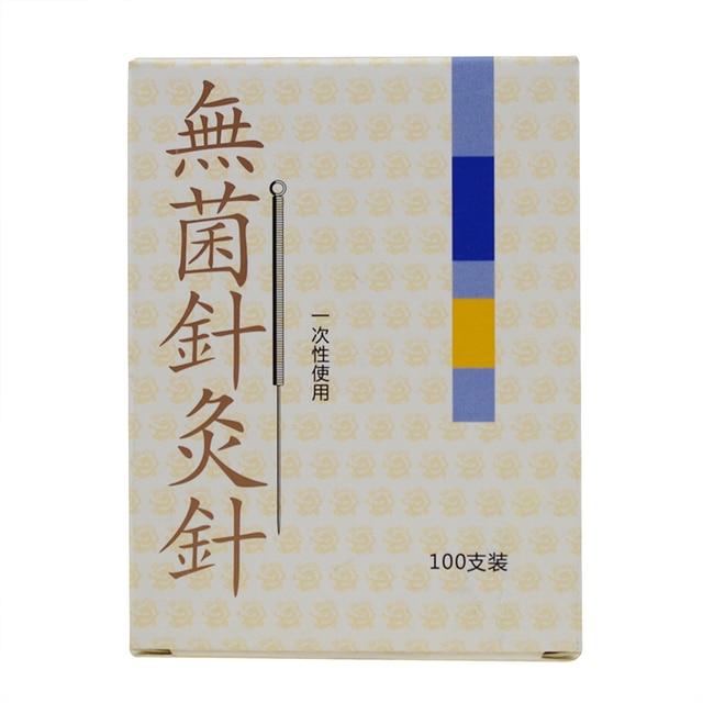 10boxes of 100pcs Cloud Dragon Acupuncture Needles Non Needle Tubing sterilization Package Version