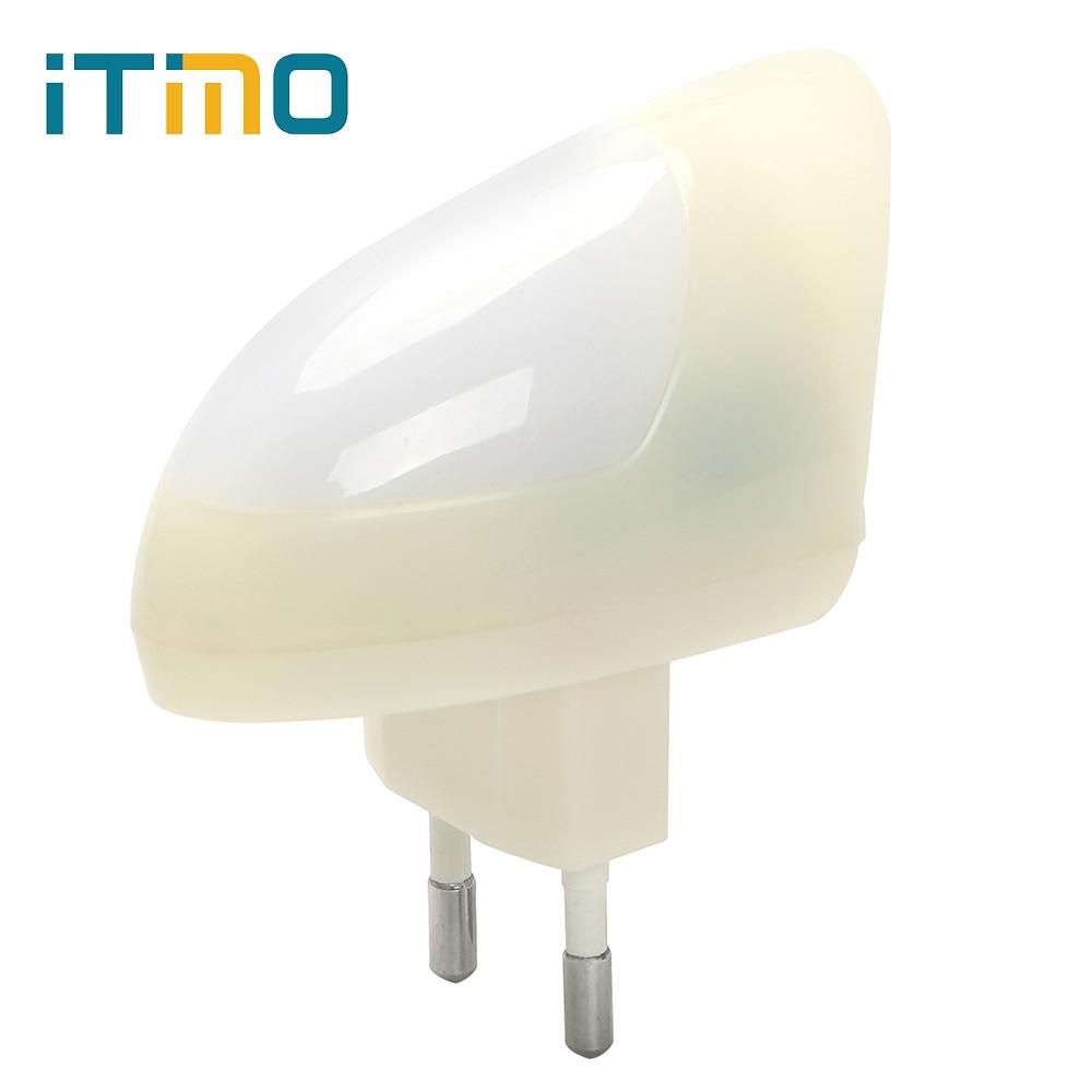 itimo lichtsensor 2 modi eu steckdose lampe nachtlicht weiß led