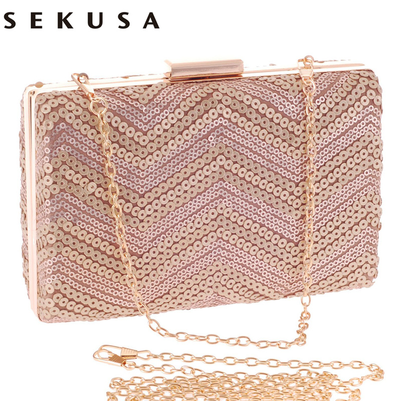 Sequined diamonds women evening bags day clutches lady handbags silver/gold/black messenger chain shoulder bags стоимость