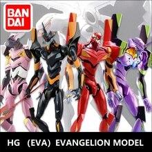 Original Gundam Model HG EVANGELION EVA-01 EVA-02  Unchained Mobile Suit Kids Toys