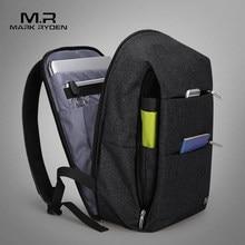 f469199896ad (Отправка из RU) Mark Райден Новый Для мужчин рюкзак для 15,6 дюйм(ов) ноутбук  рюкзак большой Ёмкость студенческий рюкзак Повседневное Стиль Сумк..