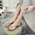 Women shoes Slippers Summer Classic Rhinestone fashion comfort flip flops women Slippers sh020098
