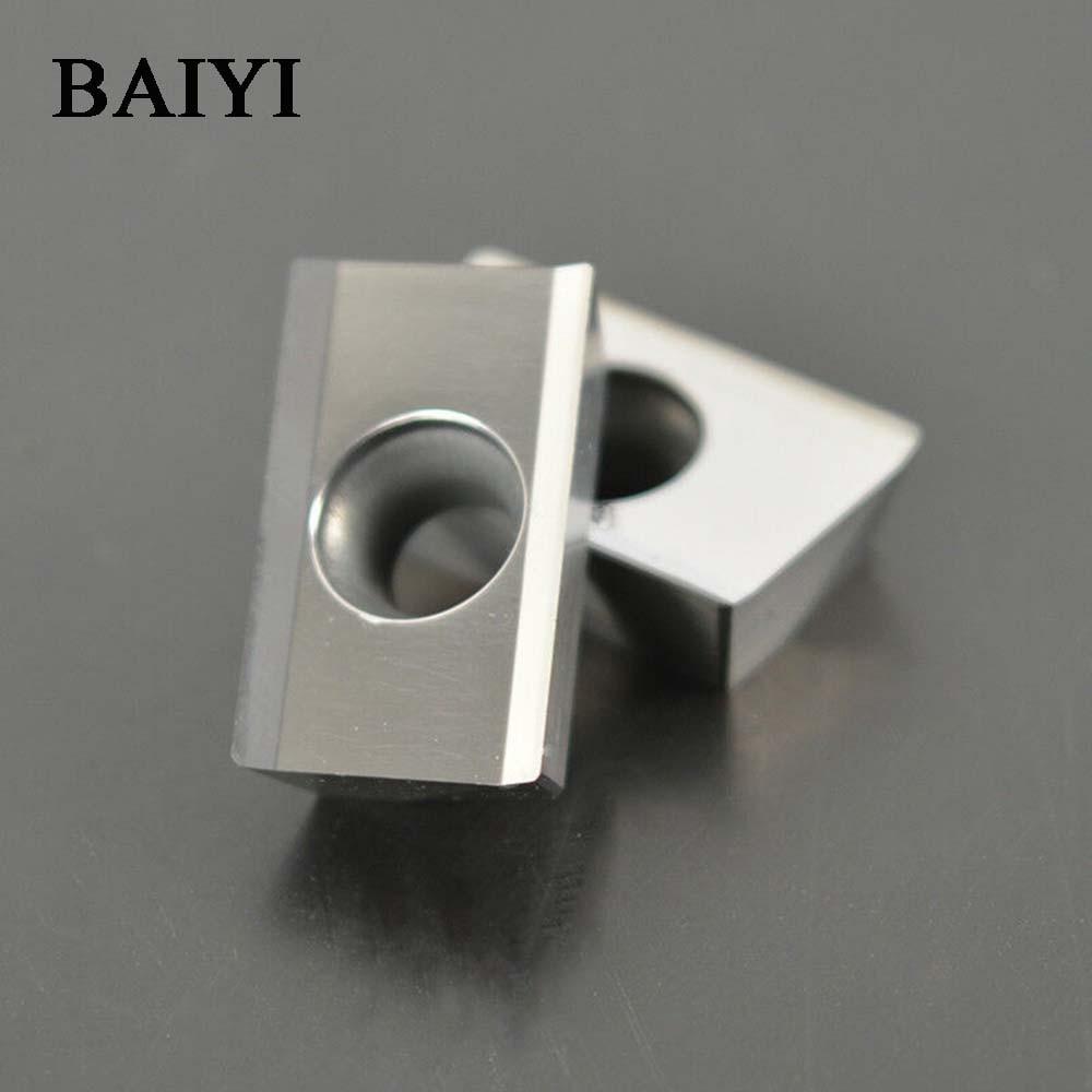 10pcs APKT1604PDFR-MA H01 APMT1604 Carbide Milling Inserts Cutter Blade For Aluminum CNC Milling Insert