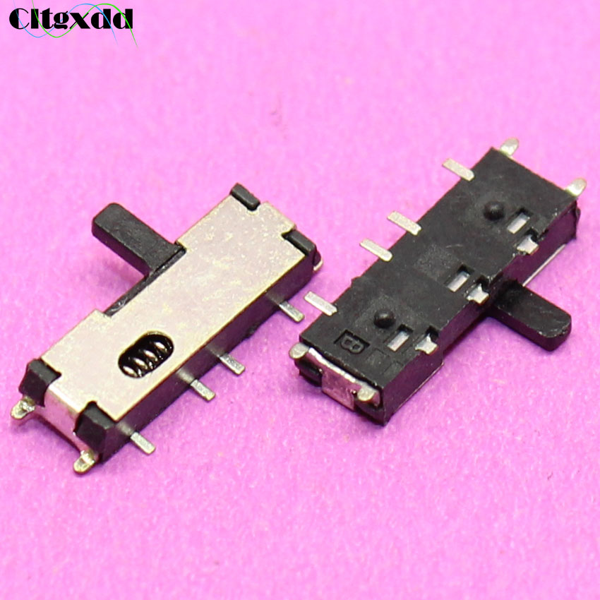 cltgxdd 1~100pcs Power Slide Switch Fit For Samsung N143 N145 N148 N150 Switch push Button Power Key Reset switc