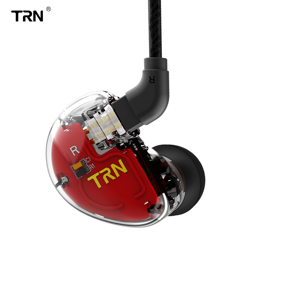 TRN V30 1DD + 2BA Hybrid In Ear Earphone HIFI DJ Monitor Earphone Earbuds Headset with 2PIN Detachable Cable V20/V80/IM1 image