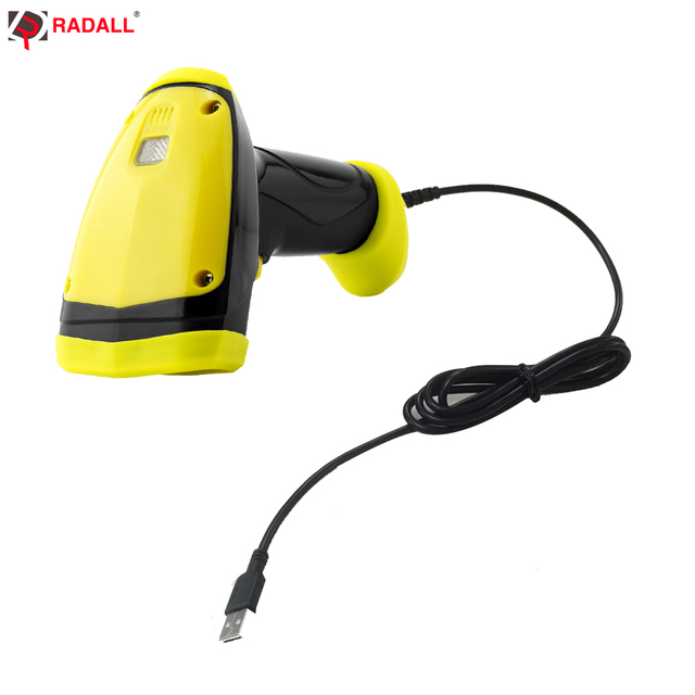 US $57 99 |RD I1 Handheld 1D Wired Barcode Scanner QR Code Reader IP68  Waterproof Wired 32Bit Portable USB A4 Bar Code for POS System-in Scanners  from