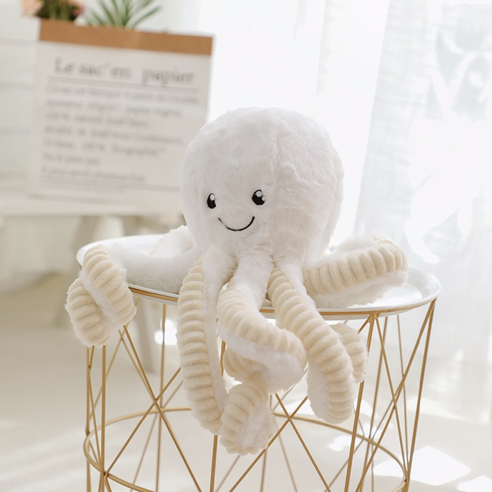 lovely cute <font><b>Octopus</b></font> Plush <font><b>Toys</b></font> Stuffed <font><b>Toys</b></font> Plush <font><b>Octopus</b></font> Doll <font><b>Toys</b></font> For Children Girls Home Decoration Birthday Gifts image