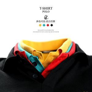 Image 3 - Simwood 2020 verão novo logotipo bordado camisa polo 100% algodão clássico superior manga curta de alta qualidade mais tamanho 190295